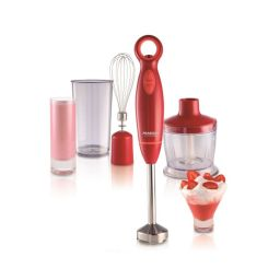 MIXER PEABODY 600W 0.6LTS 2 SPEED PE-LM324R RED