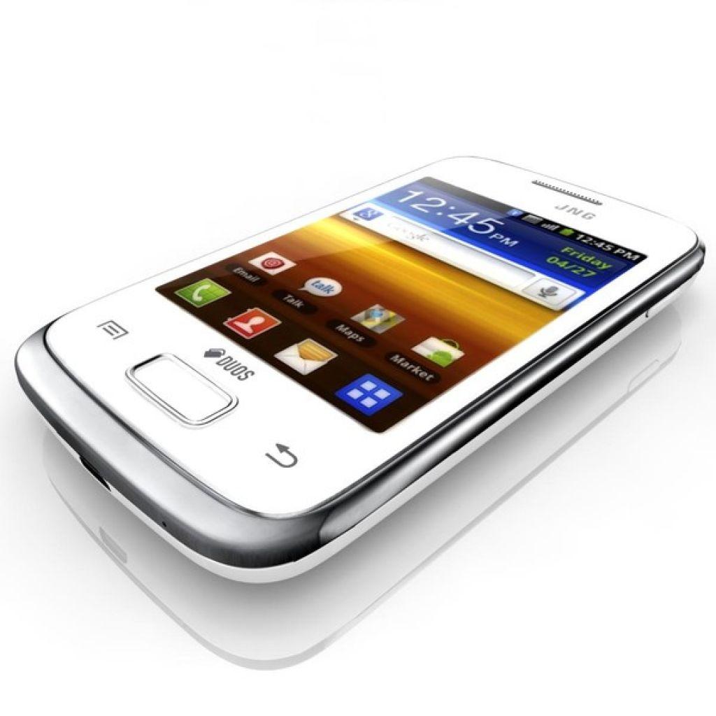 Celular Samsung S6102 Galaxy DUOS - Dual SIM - Blanco